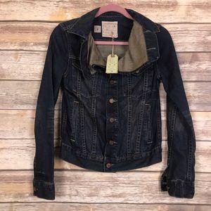 All Saints Jackets & Coats - All Saints NWT Kay denim jean jacket 6 dark wash